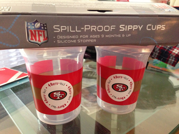 Baby 49ers Sippy